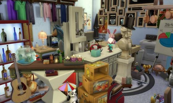 Новый скриншот обновления для The Sims 4 с карьерами, которое выйдет на следующей неделе