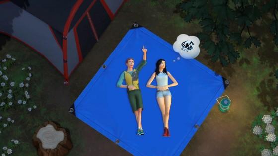 The Sims 4: Скриншот набора «В поход!» #2