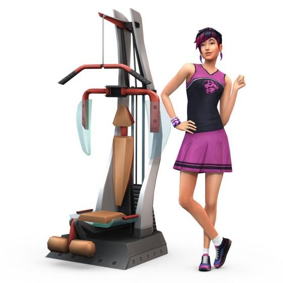 Рендер карьеры спортсмена в The Sims 4