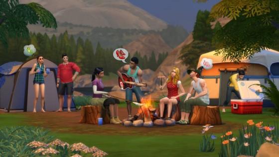 The Sims 4: Скриншот набора «В поход!» #1