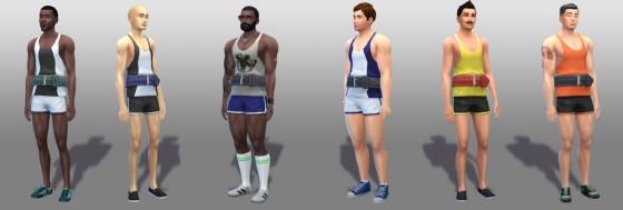 The Sims 4 Концепт-арт #2. Каифус Мур (Caiphus Moore)