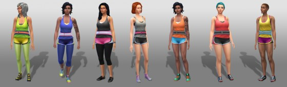 The Sims 4 Концепт-арт #1. Каифус Мур (Caiphus Moore)