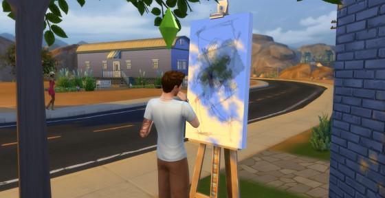 Как сделать картины для симс 4 951