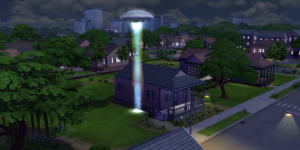 The Sims 4 «На работу!»: Решение проблем с постоянными похищениями пришельцами