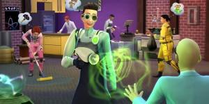 Официальный блог: 6 вещей, которые вы должны попробовать, играя в качестве ученого в дополнении «The Sims 4 На работу!»