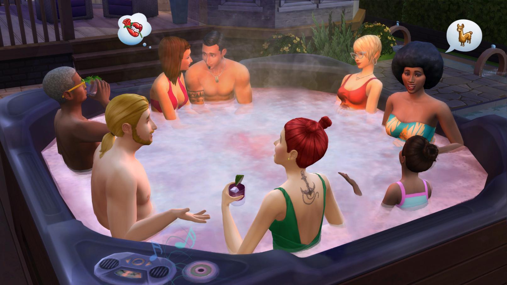 The Sims 4 Освещение