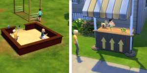 Использование перегородок в The Sims 4