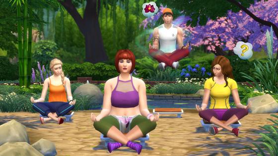 медитация the sims 4