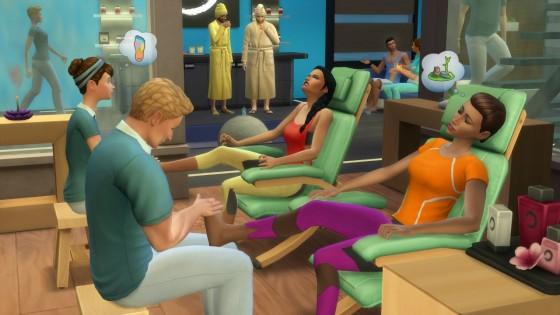 the sims 4 массажные стулья