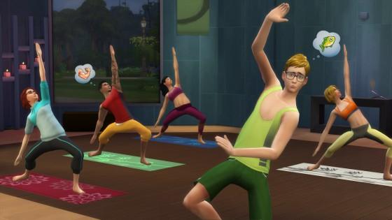 the sims 4 коврик для йоги