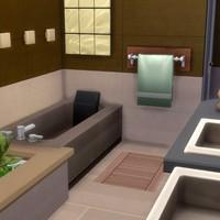Как создать потрясающую ванную комнату в The Sims 4
