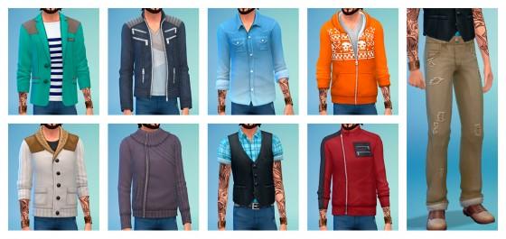 мужская-одежда