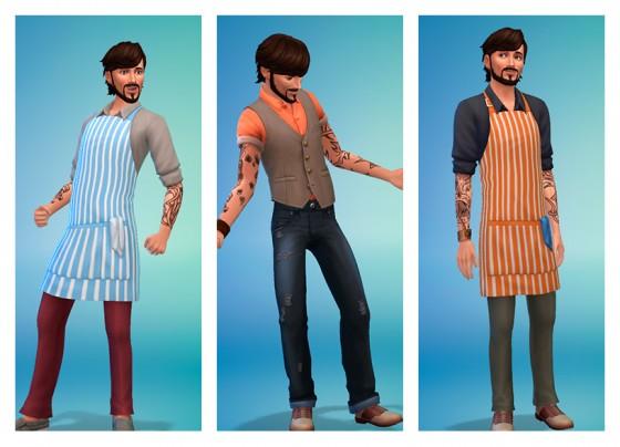 стилизованые образы мужские классная кухня