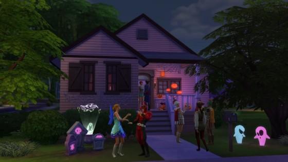 the sims 4 жуткие вещи скриншот из трейлера