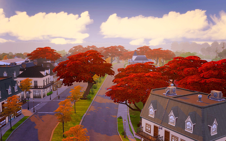 Мод на Симс 4 Осень