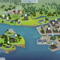 Новый вид карт в The Sims 4