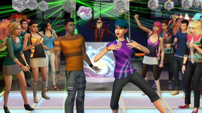 Танцевальный навык в The Sims 4 Веселимся Вместе - соревнования