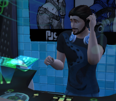 Навык ди-джея в «The Sims 4 Веселимся вместе»
