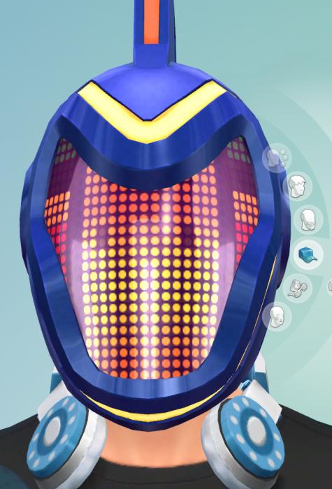 робо шлем симс 4