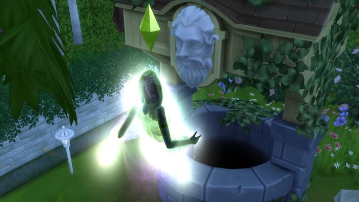the sims 4 романтический сад воскрешение призрака