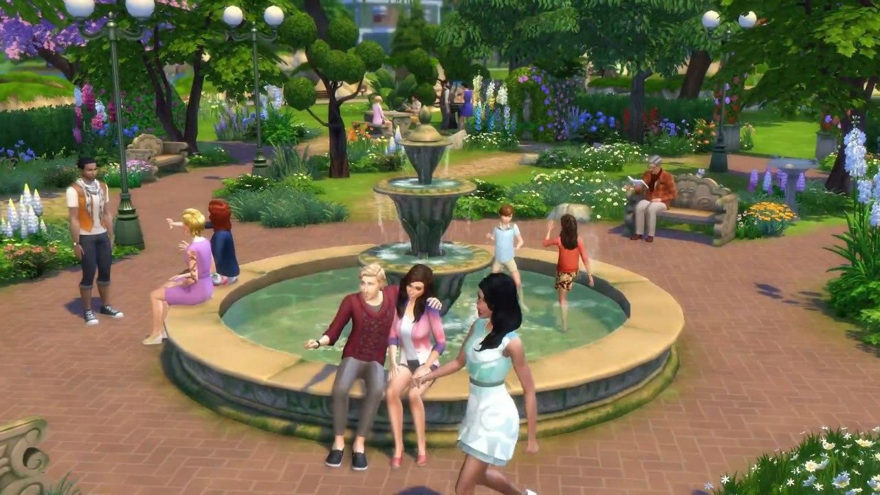 Скачать дополнения для симс 4 романтический сад.