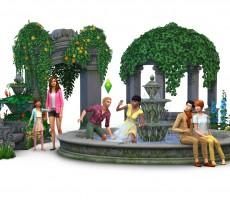 Обзор каталога The Sims 4 «Романтический сад»