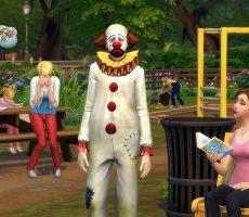 ГАЙД: NPC печального клоуна в The Sims 4