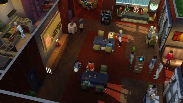 улучшенное освещение the sims 4