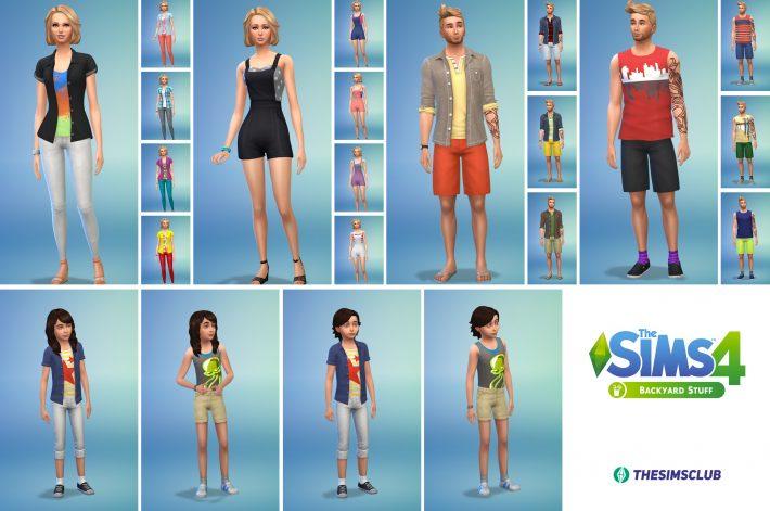 the-sims-4-на заднем дворе одежда