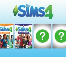 У The Sims 4 будет всего 4 дополнения?