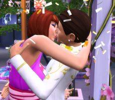 Найди истинную любовь на Фестивале романтики в The Sims 4 «Жизнь в городе»