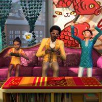 Играем: видеоигры и баскетбол в «The Sims 4 Жизнь в городе»