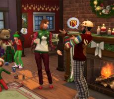 The Sims 4: Обзор обновлённого набора «Праздничный»