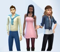 «The Sims 4: Вампиры» — официальные участки и семьи