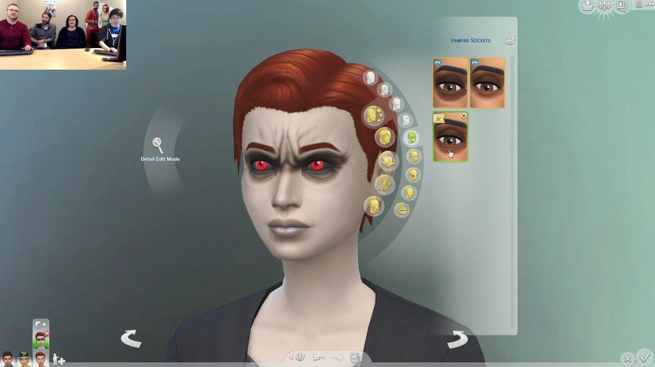 Узнай о персонаже цвет глаз