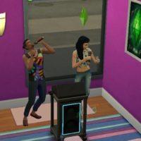 Навык пения в «The Sims 4: Жизнь в городе»