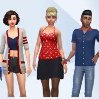 «The Sims 4: Вечер боулинга» — официальные участки и семьи