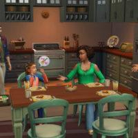 «The Sims 4: Родители» — официальные участки и семьи