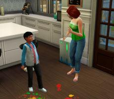 Навык воспитания в The Sims 4: Родители