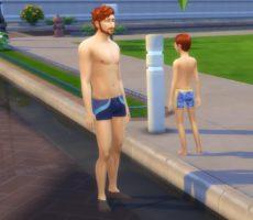 Настраиваемая глубина воды в The Sims 4