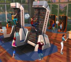 Поддерживайте форму с «The Sims 4 Фитнес — Каталог»!
