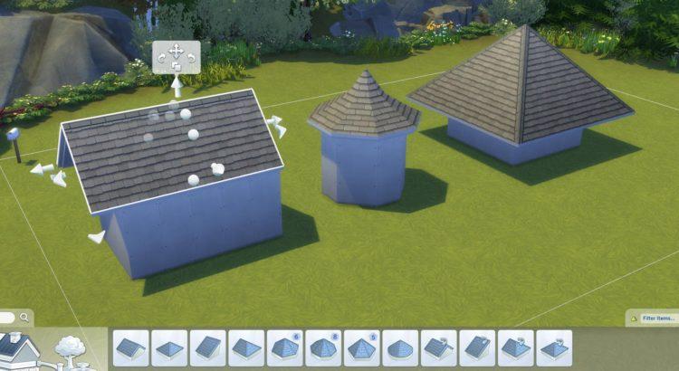 пятиугольные, шестиугольные восьмиугольные и круглые крыши