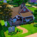 Официальный участок и семьи из «The Sims 4: Кошки и собаки»