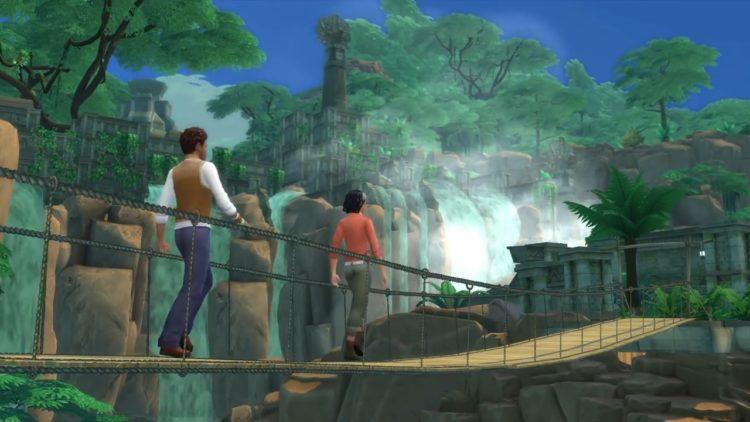 путешествие водопад