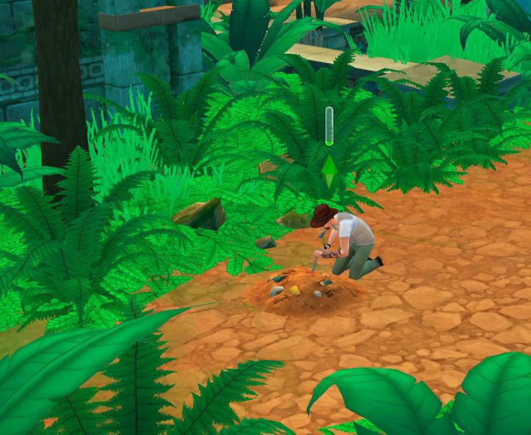 раскопки в джунглях