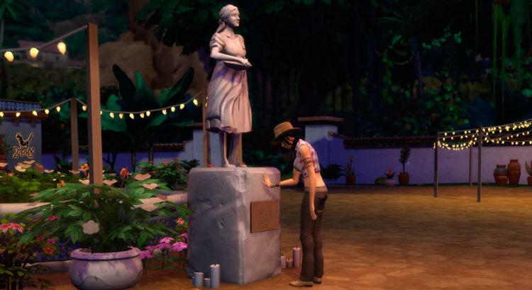 статуя Мадре Косеки на главной площади