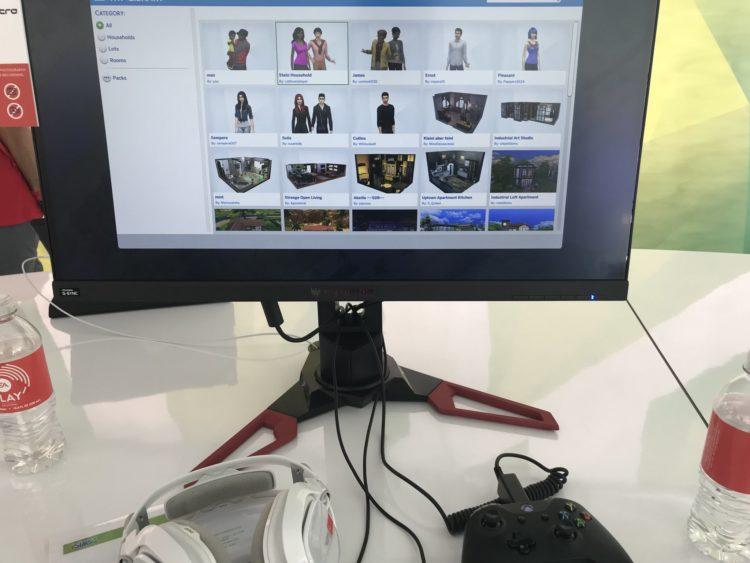 the sims 4 галерея на ps4 xbox one