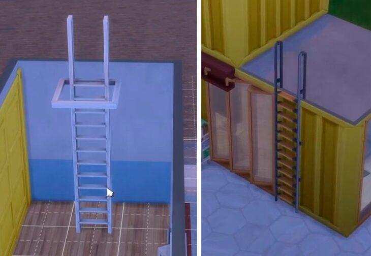 новая лестница в обновлении